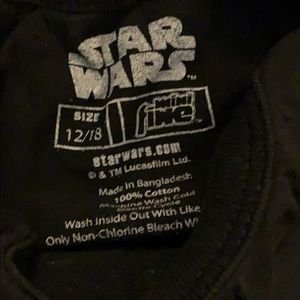 Star Wars One Pieces - EUC Star Wars Onesie